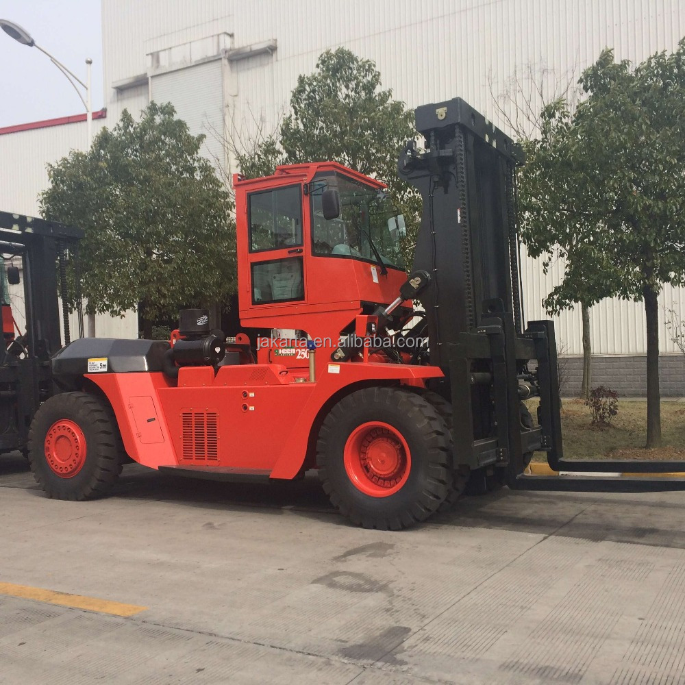 Chinese/Japanese engine 25ton diesel forklift truck in good condition and price made in china