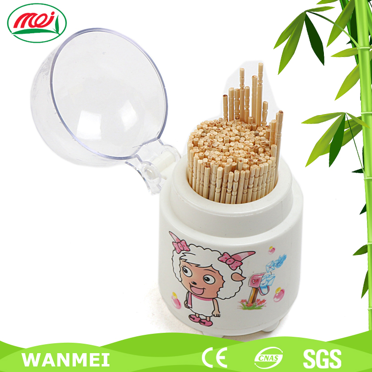 Size 65mm Bamboo Fancy Mint Flavor Toothpick