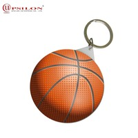 Most Popular Printed Design Image Custom Key Chain For Gift