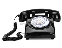 Classic old style retro telephone With Sim Card for home decor