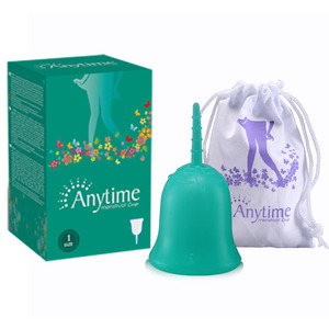 Hot ! 100% Platinum Medical Grade Silicone Lady Menstrual Cups, Reusable Lady Menstrual Cups Manufacturer from China