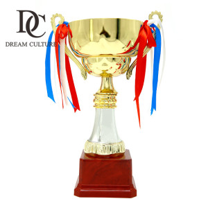 Metal award world sports super cup trophy/trophy cup