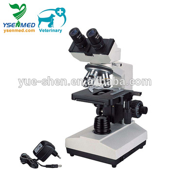 YSXW-J107BN China Cheapest Clinical Lab Equipment Veterinary Portable Binocular Microscope Price For sale
