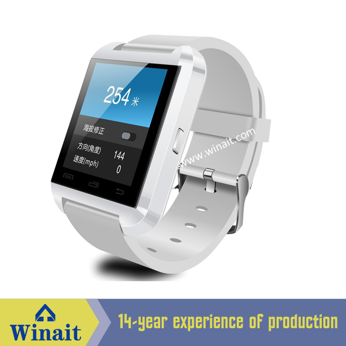 Smart watch u8 that supports Altitude Meter,Passometer,Photograph, Barometer, Vibration