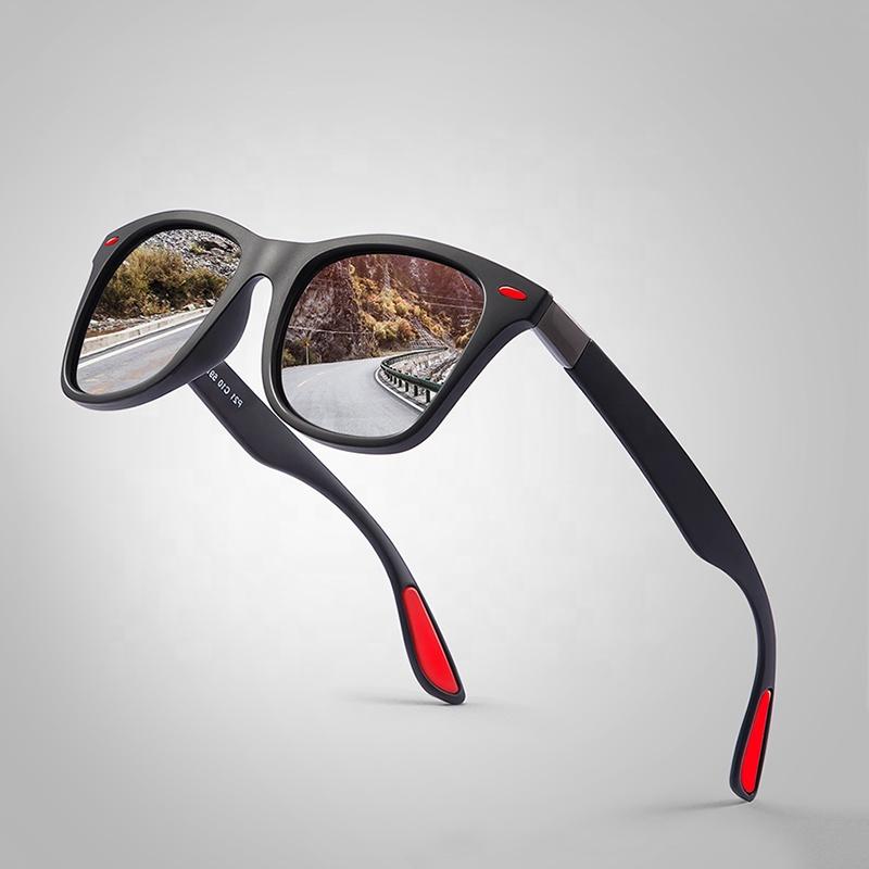 新製品 20/20 光学クラシック偏光サングラスの男性の正方形のフレームサングラス男性 UV400 工場出荷時の価格 PL344