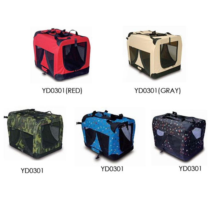convenient fabric pet cat carrier carrying soft dog cage crate