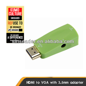 Hot sale HDMI to VGA audio output adapter