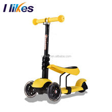 Wholesale cheap mini smart child balance aluminum material handle kids toy scooter