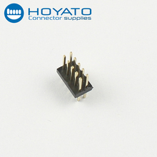 Great quality 1.27mm sping pin connector dual row straight type pin header with UL CE FCC certificated