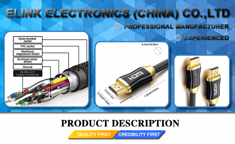 colorful PVC moulding esata to hdmi cable male to male