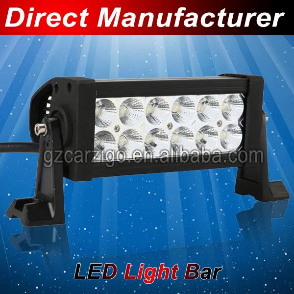 off road led offroad light bar / off road led curved light bar / piranha led light bar