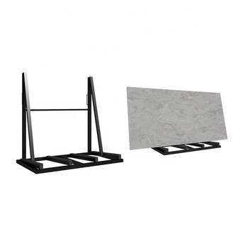 SD024A Sample stone exhibition slab metal display rack