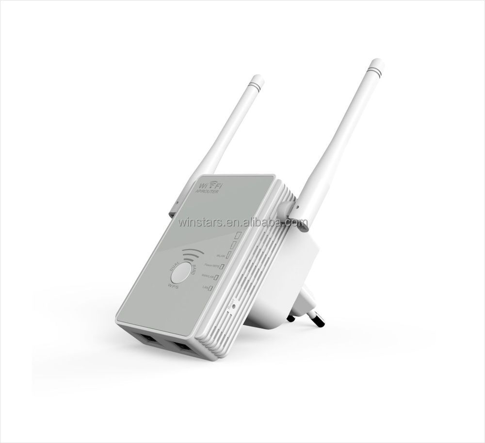 N300 WIFI AP, dualband wireless repeater with Antennas integrated,coverage in all WLAN networks