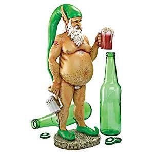 "Park Avenue Collection Oktoberfest Otto"" Fully Krusened Elf Gnome"
