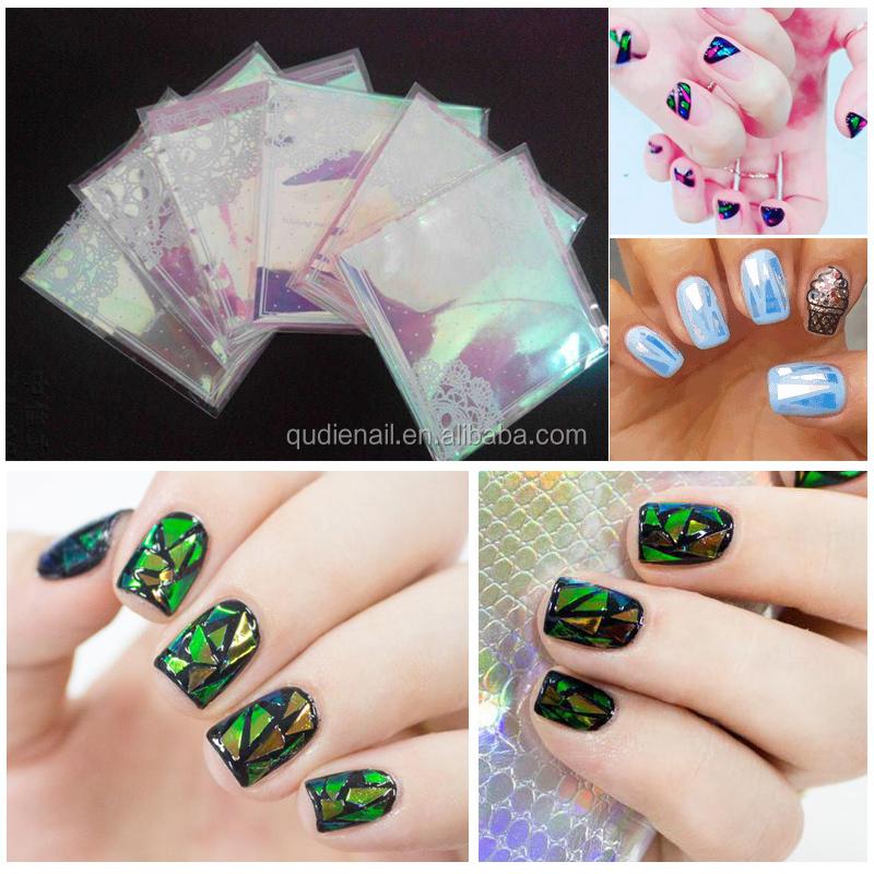 Hoge Kwaliteit Populairste Nail Transfer Folie Diy Nail Art Stickers