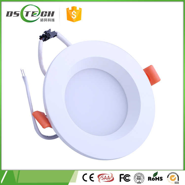 Energy saving high lumens cob adjustable led down light, dimmable outdoor led recessed down light