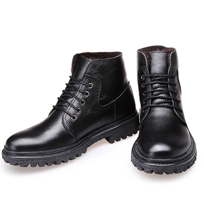 Aliexpress.com : Buy 2015 Genuine Leather winter warm