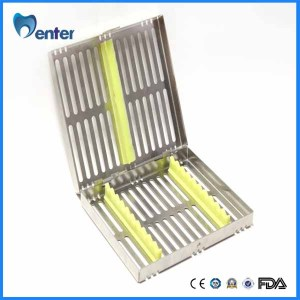 Dental Sterilization Cassette 10 Surgical Instruments dental endo box