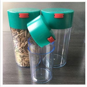 S M L Smell Proof PP Material Container Medical Pill/Vitamin Airtight Container with Locking Lid