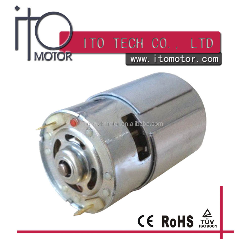 High Power 12v Dc Electric Motor Irs-775 For Fan Motor And Power ...