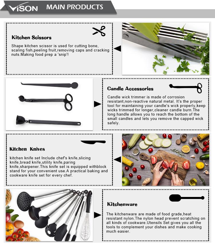 Utility Sbucciatura verde Coltello Da Cucina con Guaina di Copertura, Lama In Acciaio Inox e verde, i colori