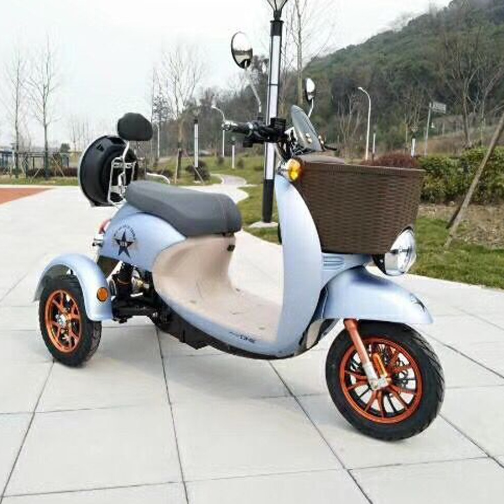 60v off road electric adult city scooter with 3 wheels