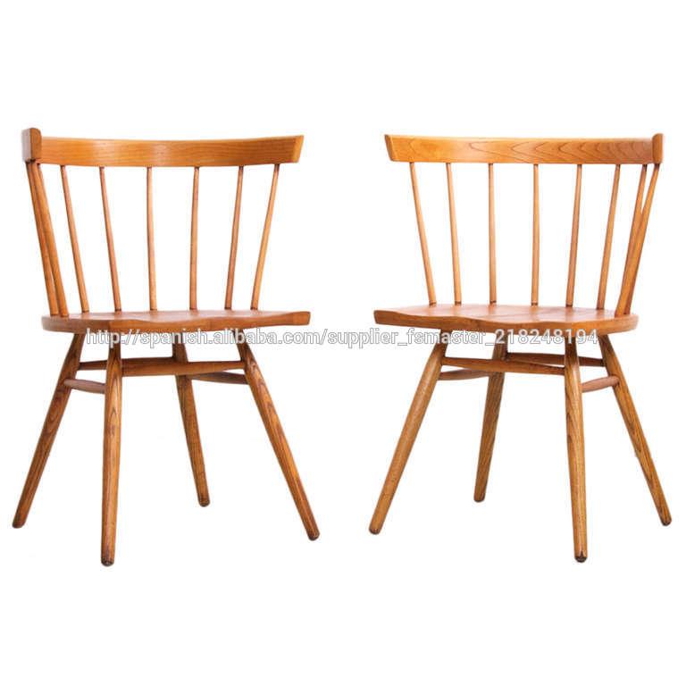 nakashima silla/madera de fresno sillas rectas/venta caliente silla ...