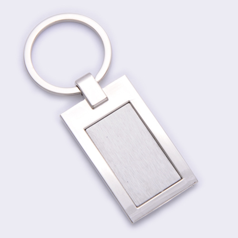 Craft custom plain metal key ring with your logo