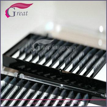 High Quality Pbt Fiber Silk/mink Eyelash Extensions - Buy Real Mink Eyelash  Extension,Single Eyelash Extension,Individual Eyelash Extension Product on