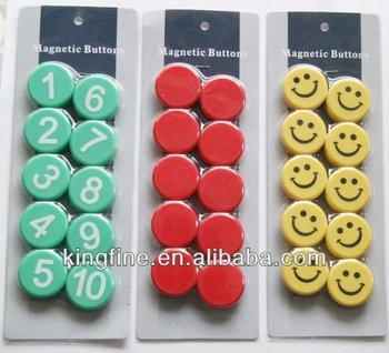 Colorful Magnetic Paper Holder,Memo Holder Magnet,Push Pin Manget ...
