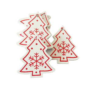 Wholesale Home Wooden Hanging Gift Christmas Decorations Ornaments Set