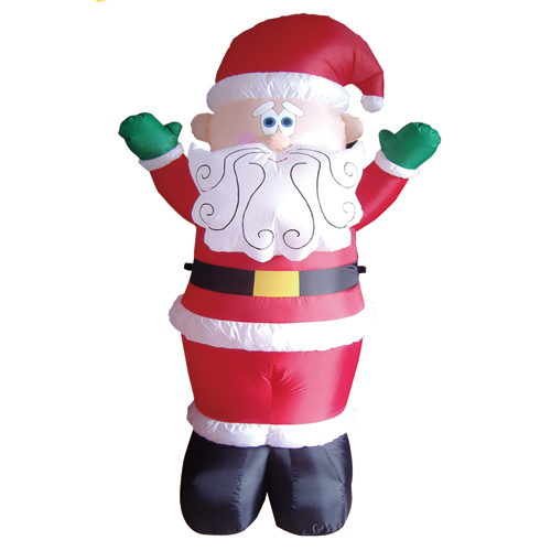 Led Lighted Outdoor Santa Christmas ornament