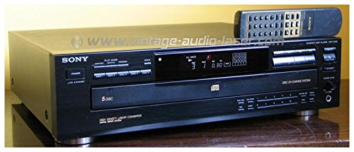 Sony CDP-C335 5 Disc CD Changer Player Compact Disc Multi Player