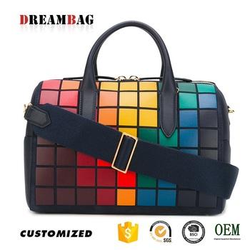 Guangzhou Factory Custom Design New Model Oe Leather Handbags