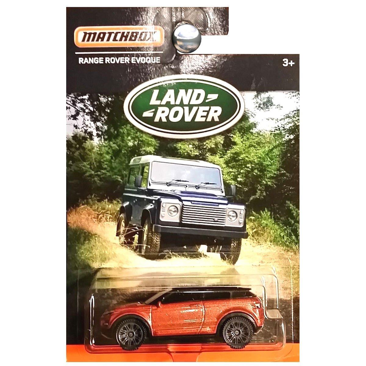 MATCHBOX LAND ROVER SERIES COPPER RANGE ROVER EVOQUE