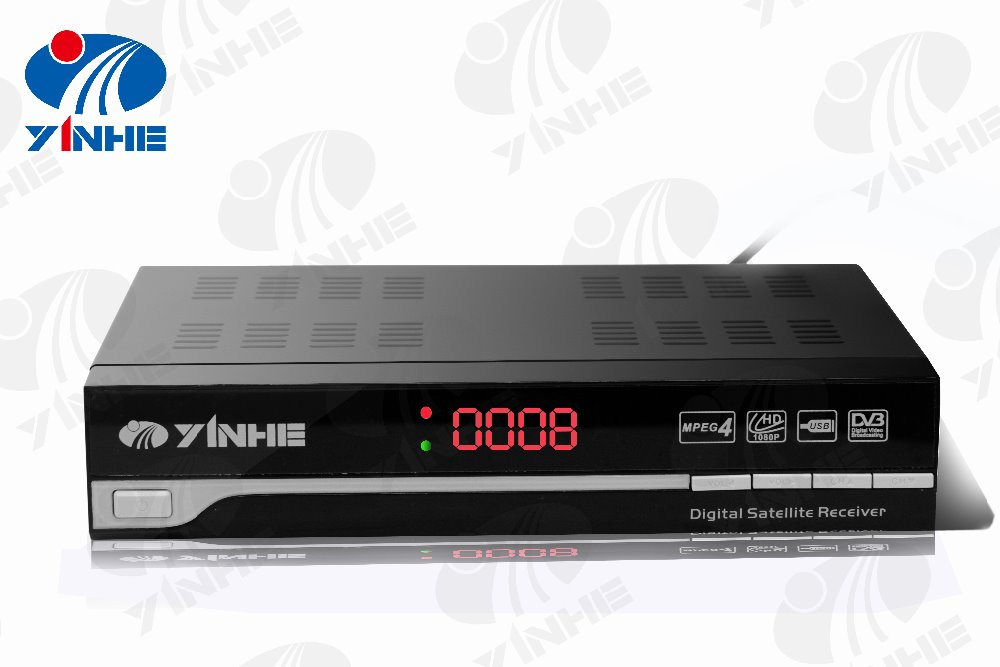 DVB-S2+IP+Enigama2 linux live streaming smart tv h264 dvb-s2 decoder box