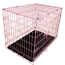Large Pink Metal Dog Cage , Dog Crate,Cheap