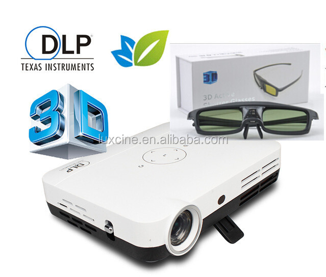 luminar l500 4k led 3d projector hdmi 1080p monitor