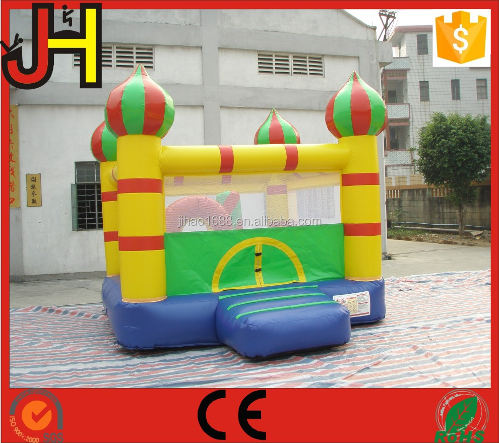 Durable PVC Material Inflatable Obstacle Bouncy Jumping Castle For Kids