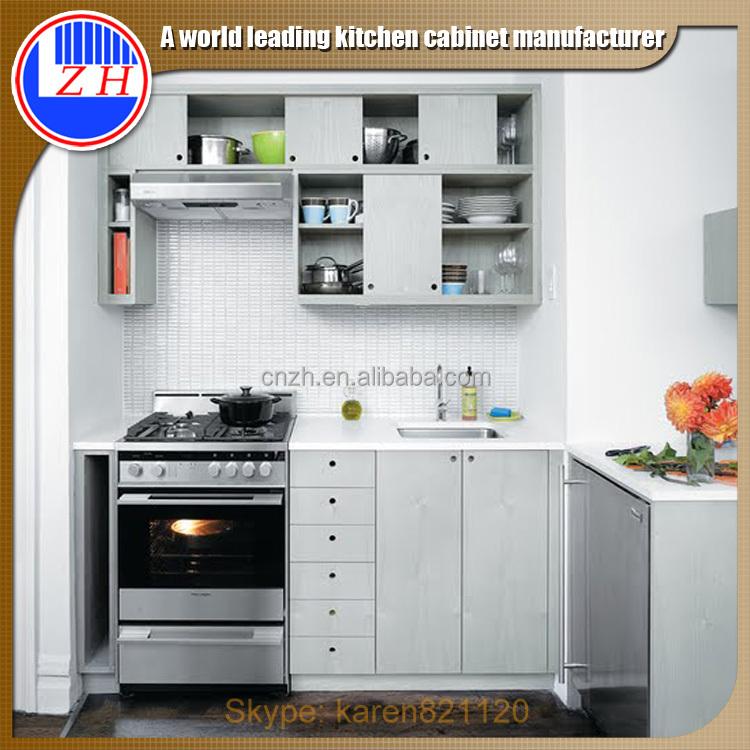 2016 Modern Kitchen Cabinets: 2016 الحديثة عالية اللمعان خزائن المطبخ مطبخ صغير تصاميم