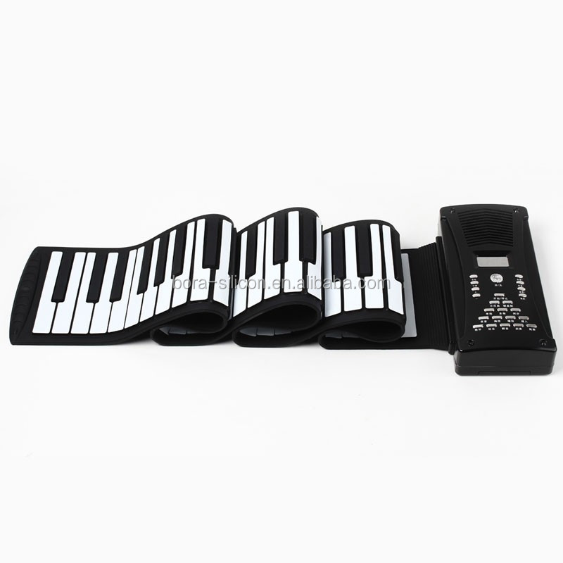 gifts for piano players has usb function 88 keys roll up piano