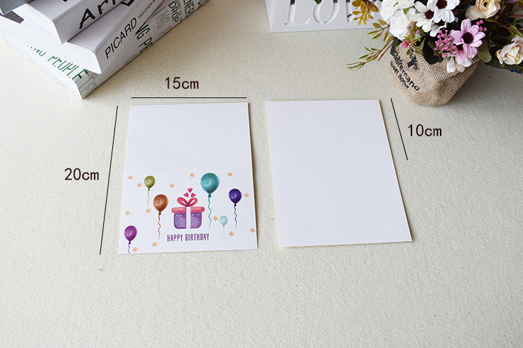 great handmade paper cut blank greeting card designs for birthday
