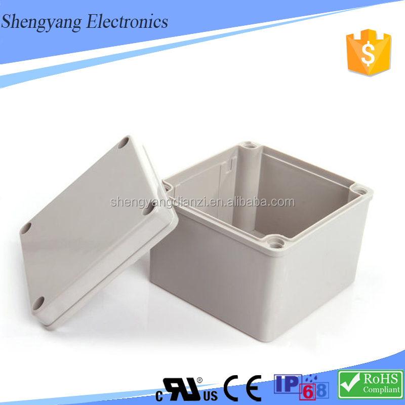 China SY Aluminum Waterproof Electrical Junction Box Cable Junction Box Full Size