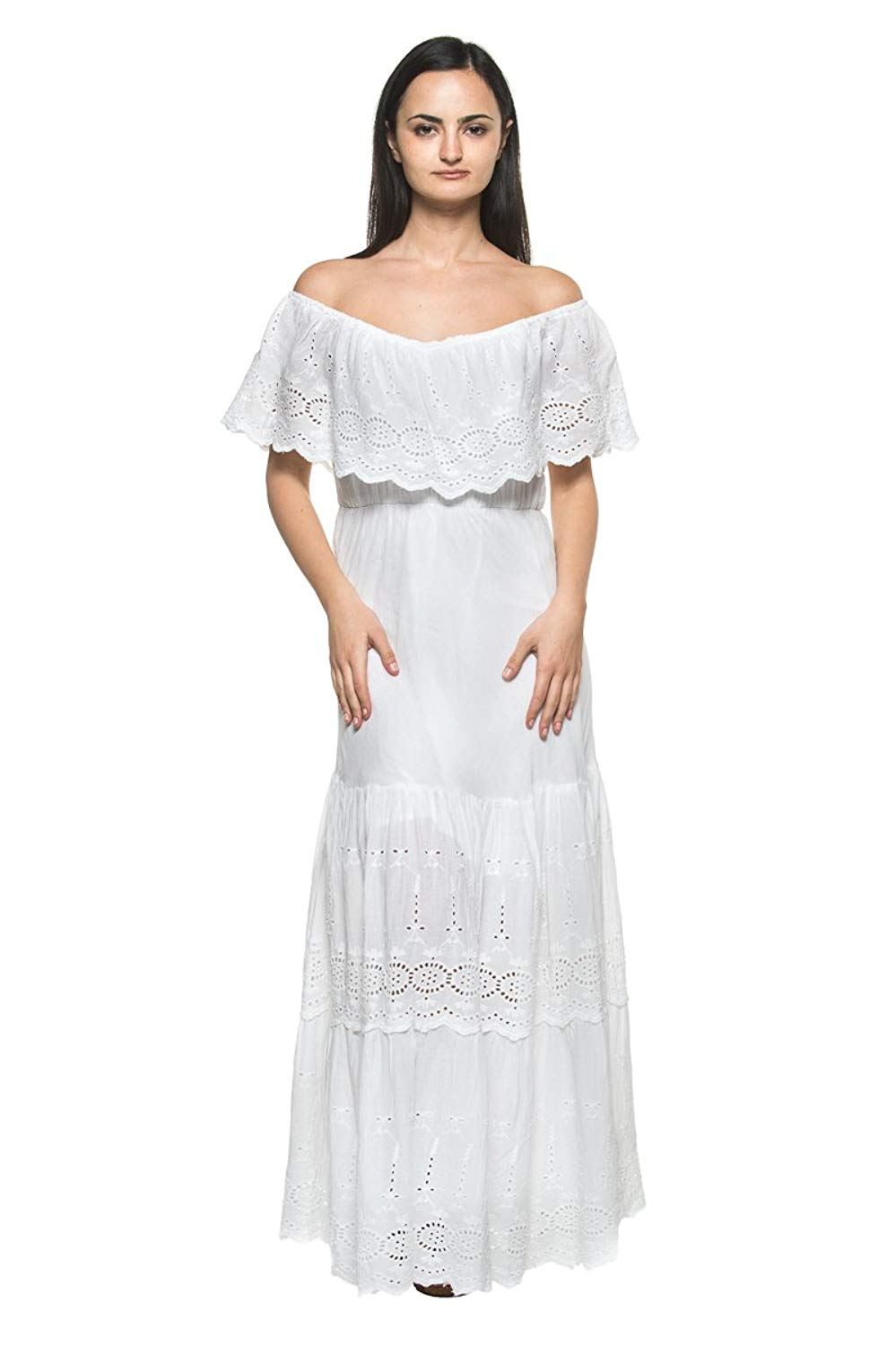 Cheap Long White Peasant Dress, find Long White Peasant ...