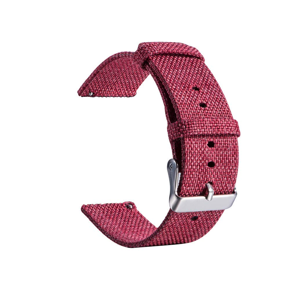 Fenebort Accessory for Samsung Galaxy Watch, Replacement Woven Fabric Wrist Strap Quick Release Watch Band for Samsung Galaxy Watch 46mm/42mm Smart Watch