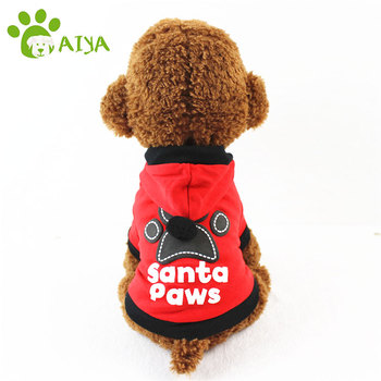 Free sample multi sizes wag a tude big dog clothes christmas