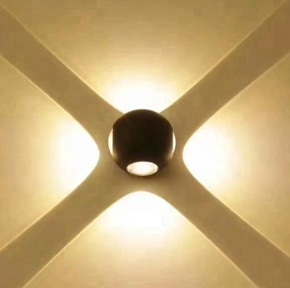 2018 Neue Moderne LED Wandleuchte Indoor Led Wandleuchte 100 240 V COB Weiß