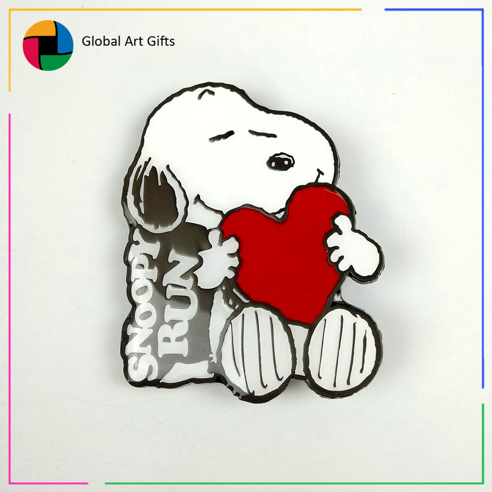 Custom Enamel Anime Snoopy Pin And Badges For Christmas Gifts - Buy ...