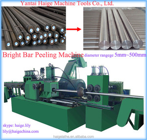 automatic turning tools rotary steel bar surface peeling lathe machine from China