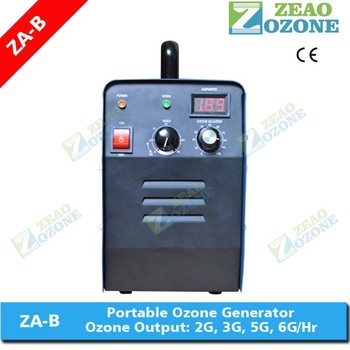 Captivating Hotel Room Air Ionizer ,ozone Air Deodorizer Machine 5g/h With Timer